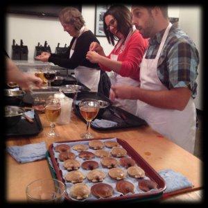 Atelier de préparation des pétoncles - Guilde Culinaire