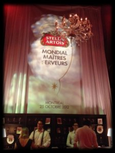 Compétition Maîtres serveurs Stella Artois 2012