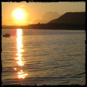 Coucher de soleil à Carleton-sur-Mer